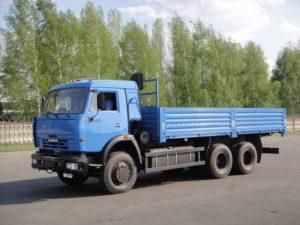 KAMAZ-53215 на газодизельном (бинарном) топливе