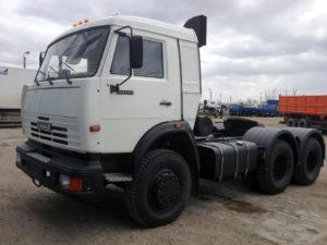 KAMAZ-54115 на газодизельном (бинарном) топливе