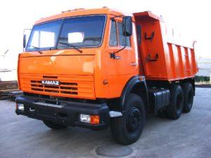 KAMAZ-65115 на газодизельном (бинарном) топливе